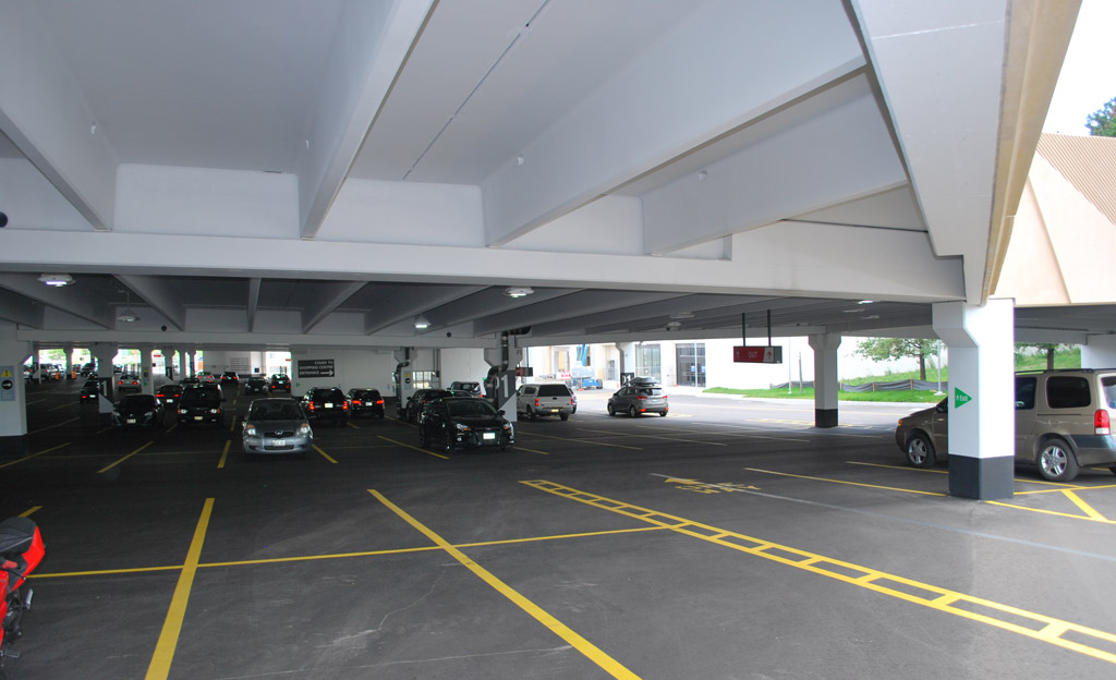 Sherway Gardens Mall Parking Deck The Prestressed Group