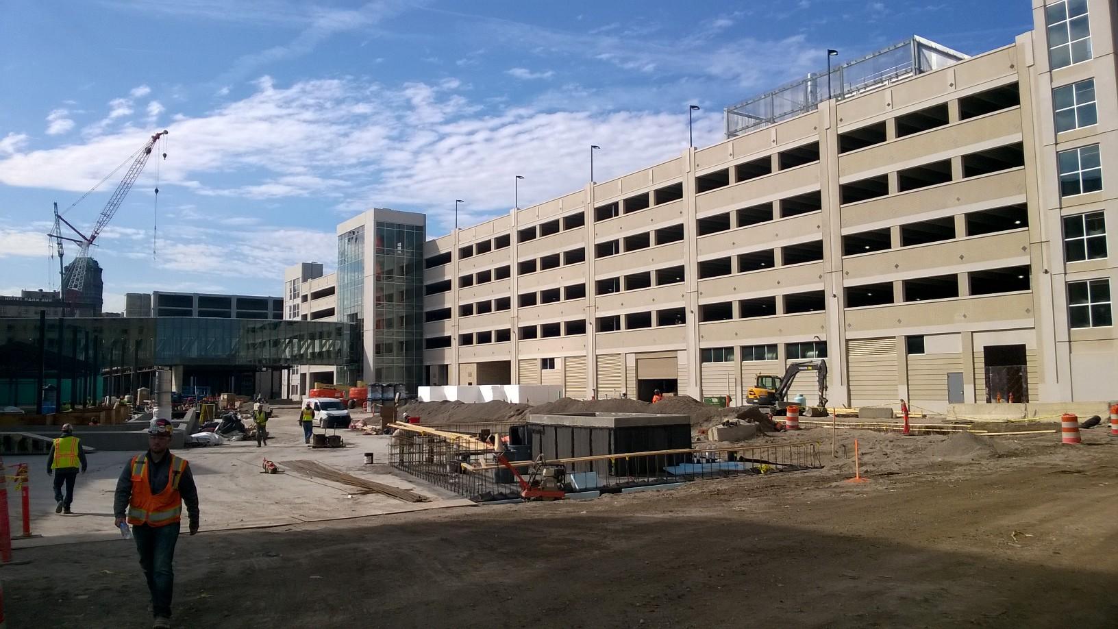 Detroit Entertainment Center Parking Deck 1